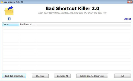 Bad Shortcut Killer 2.0
