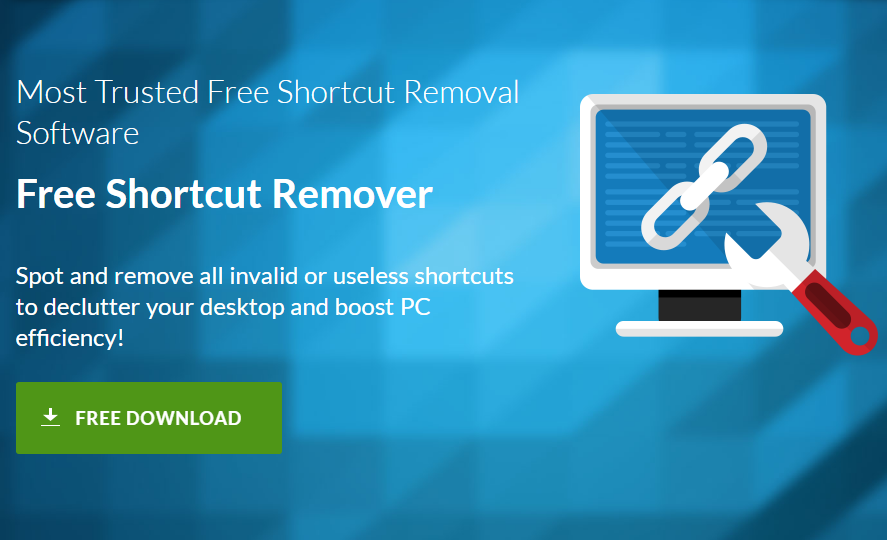 Download and Install Free Shortcut Remover